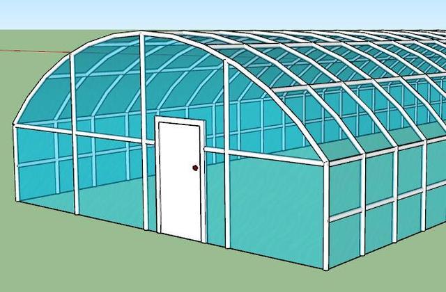 一千平方米玻璃温室大棚造价是多少?1000平方温室大棚设计方案