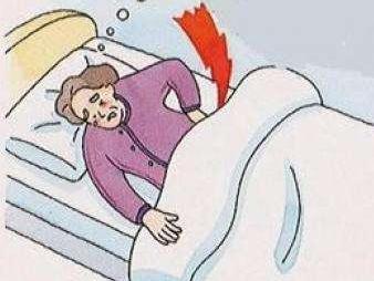 病人卧床简笔画
