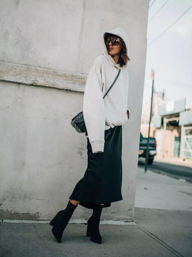 卫衣+这5件冬季外套,时髦又减龄,搞定你所有场合不同搭配