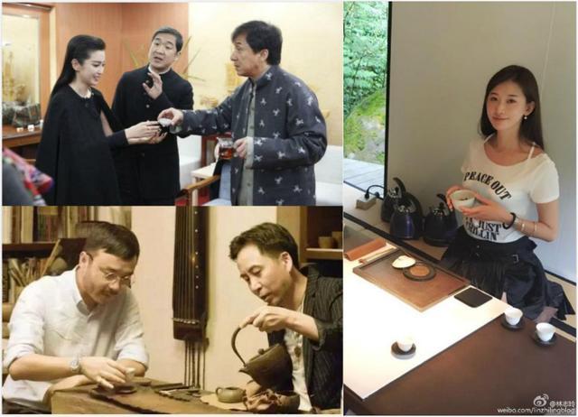 富豪喝茶图鉴:林志玲喝茶美容,苏芒的茶壶价