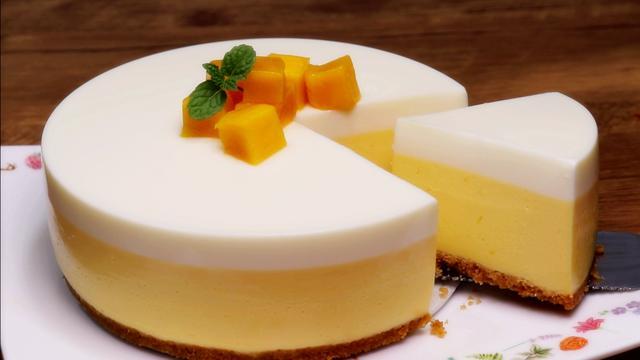 芒果慕斯蛋糕,簡單實用的做法,只要知道這兩個細節,輕松完成