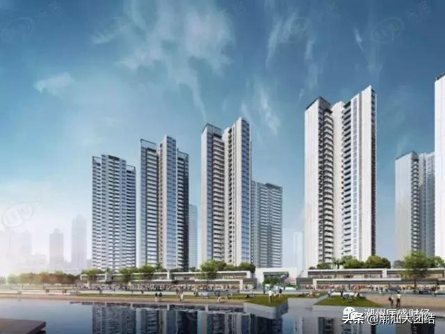 潮州 华侨城纯水岸一期、二期、三期项目