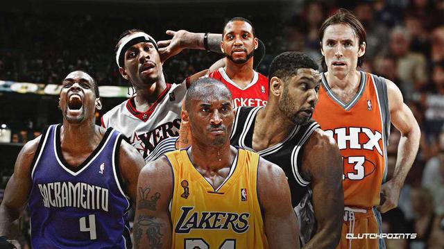 既生瑜何生亮!美媒盤點因為Kobe和鄧肯從未贏得過總冠軍的NBA頂級球星…