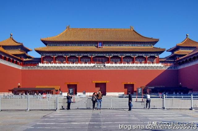 中国古代建筑屋顶简图