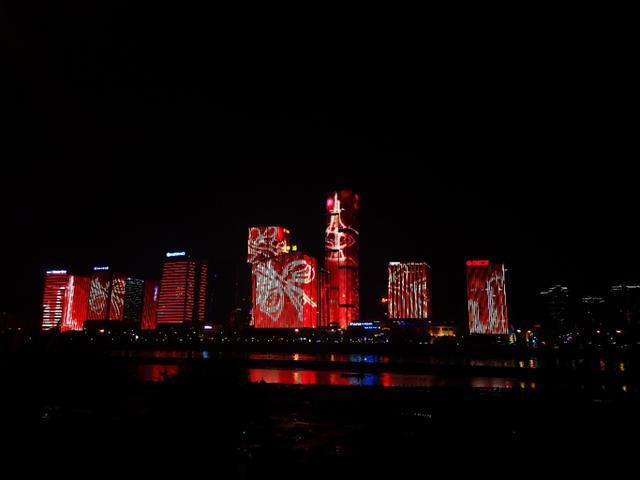 福州最美江滨夜景