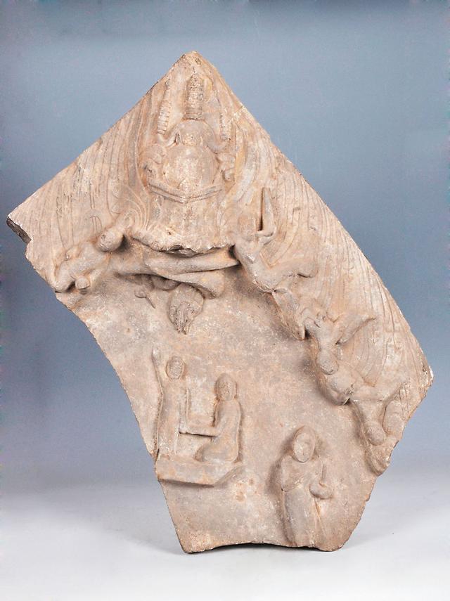 探秘临朐山旺古生物化石博物馆馆藏珍品——龙浴太子浮雕