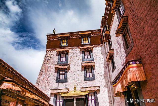 竖板西藏布达拉宫图片