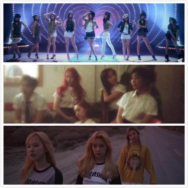 SM女团当时只看预告,就知道会成功的歌曲三首