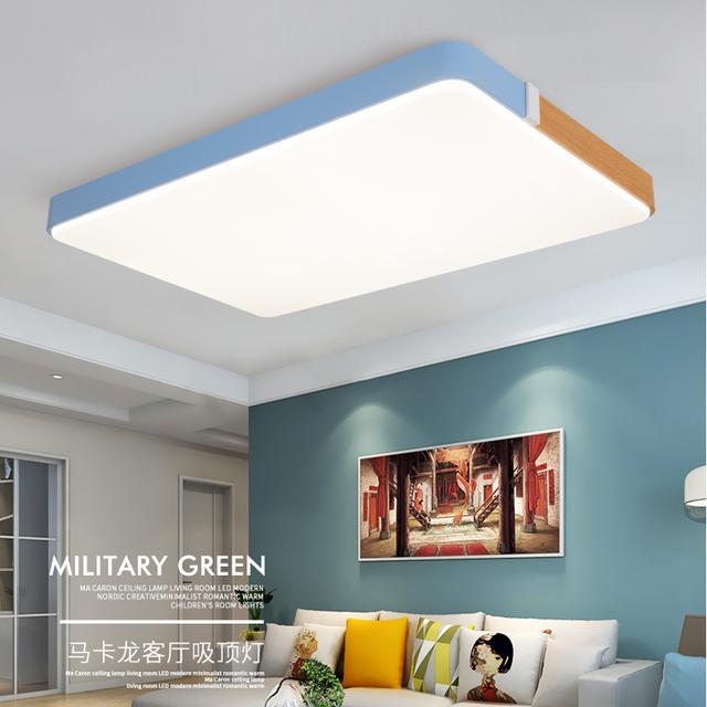 LED吸顶灯简约客厅灯卧室餐厅书房现代灯具个性创意圆形灯饰