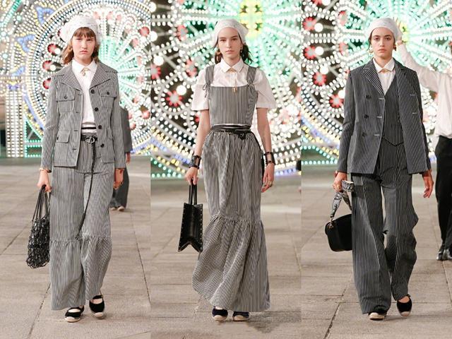 深扒迪奥2021年早春成衣秀,普通人也可以轻松get秀场同款元素