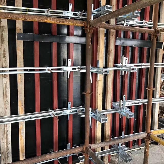 剪力墙钢背楞加固体系——绿色建筑施工材料