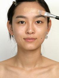 化妆美女画口红摄影图__日常生活_人物图库_... _昵图网nipic.com