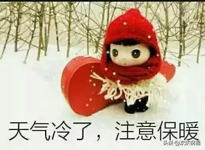 天冷了图片大全_天冷图片带字说说句子(2)