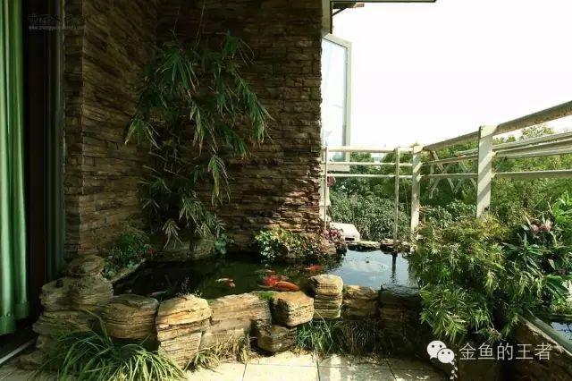 阳台鱼池设计图