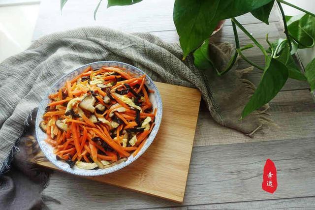 原来胡萝卜这样炒,平日不爱吃的家人都觉得好吃,你也来试试