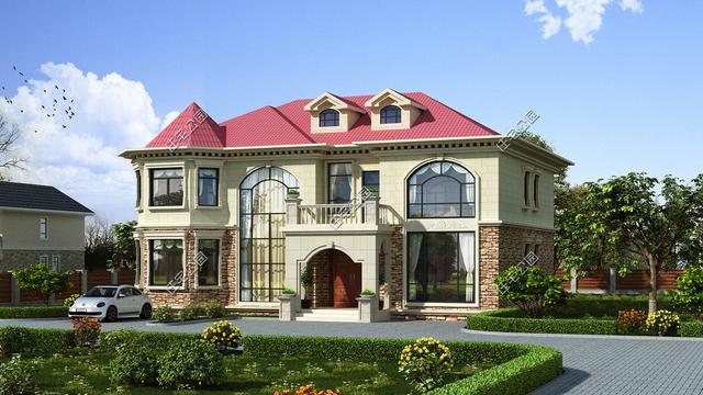 建房子设计图农村二层