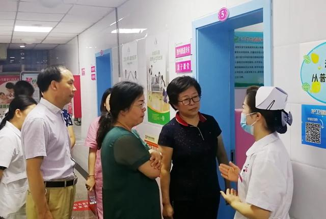 市卫健委副主任郭玲娟莅临我县调研指导妇幼健康工作