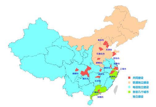 一张图看懂中国电信与中国联通的5G共建共享方案