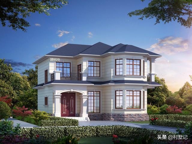 12套造价20万左右的乡村别墅设计图纸,快收藏了回家去盖吧!