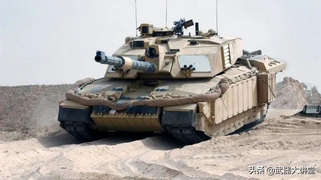 车内可煮水喝茶,主炮用线膛炮,防护却超强的挑战者2主战坦克