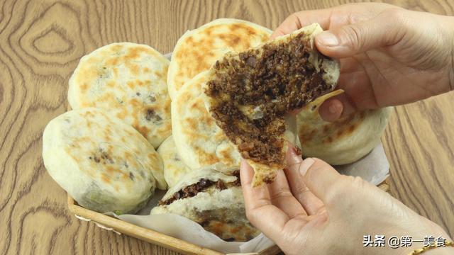 特色猪肉串卷饼图片
