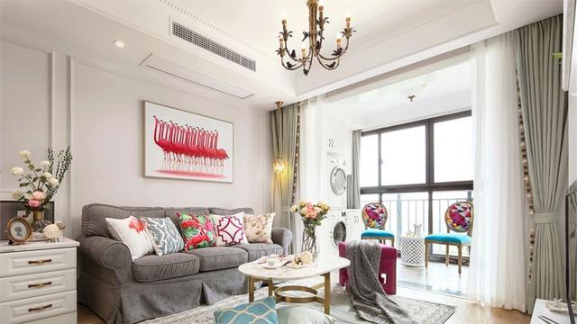 装修选对风格,90㎡小家也能住出轻奢豪宅感!简直不可思议