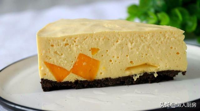 不用烤箱,教你做慕斯蛋糕,口感細膩絲滑,入口即化,好吃不上火