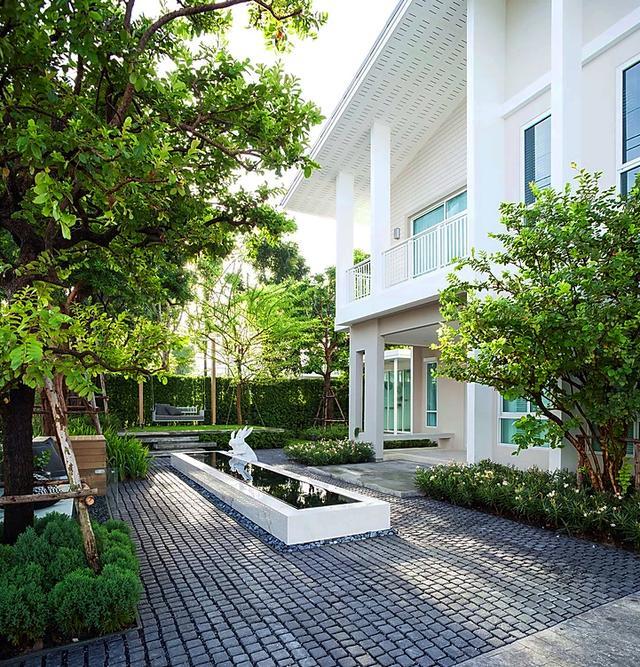 庭院设计:5个小面积庭院,私家花园这么装修20年也不会变破旧