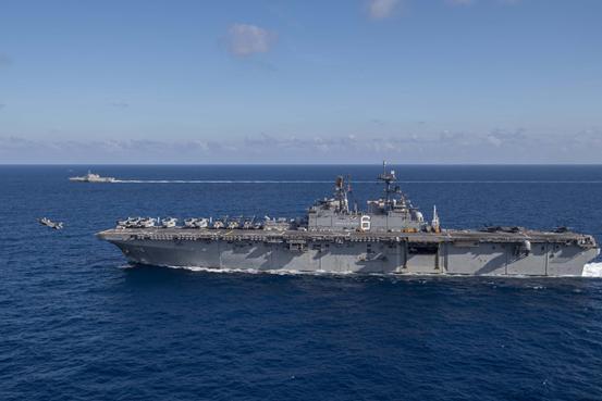 美国有多少艘电子侦察船