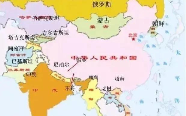 唯一没有与中国建交的邻国,也不划分边界,原因让人无奈