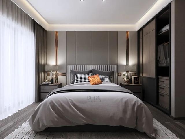 一步到位 10款卧室床头板设计图片_齐家网装修效果图