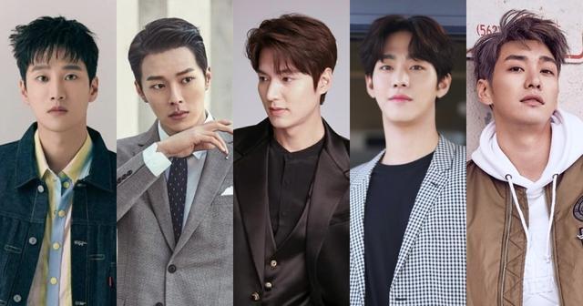 韩剧界187男神们,李敏镐、安孝燮、张基龙,理想男友排排站