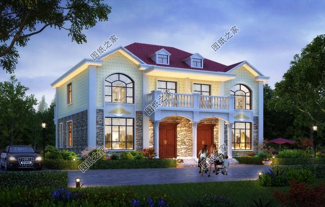二层别墅设计图