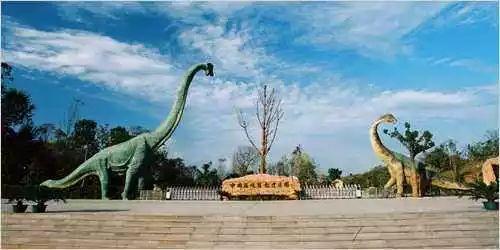 国庆黄金周,畅游西峡恐龙园,穿越白垩纪时代