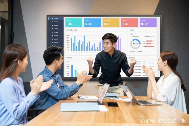 远程会议怎么开?会巢企业智慧屏带来全新体验