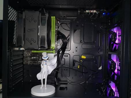 共同打造清凉炫彩的电脑之家-九州风神玄冰55 机箱400EX散热评测