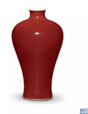 祭红釉瓷器图片真品图