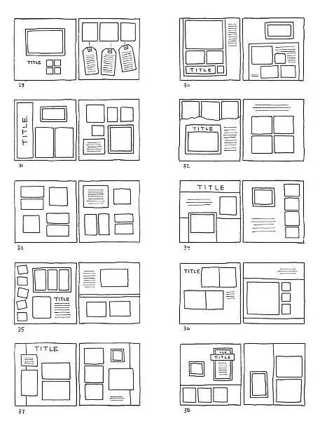 手帳排版設計圖