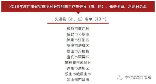 台灣省村莊復興示範縣(市、區)案例剖析七:臺中市米易縣