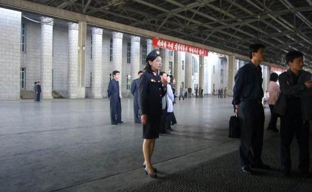 朝鲜妇女百姓真实照片