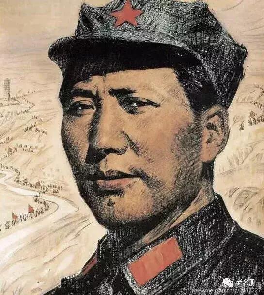 中国伟人素描头像