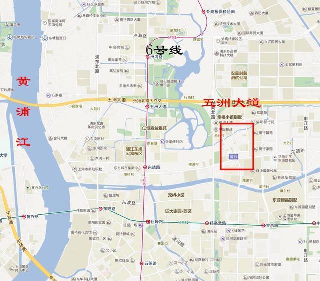 上海浦东新区高行镇在哪怎么样_上海浦东新区高行镇... _住哪儿网