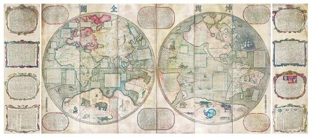中国的逆天文物:地图
