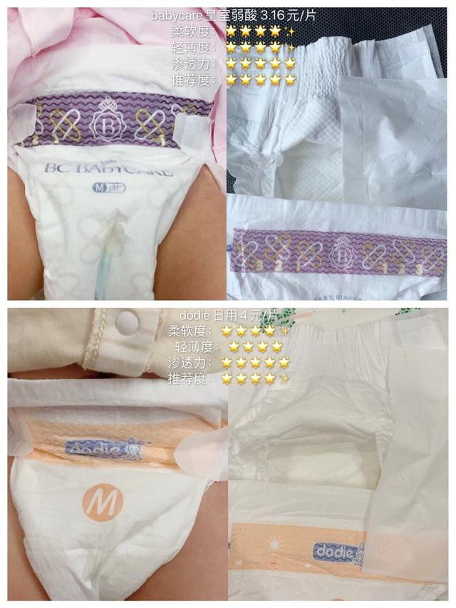 自用20款热门纸尿裤测评/尿不湿推荐