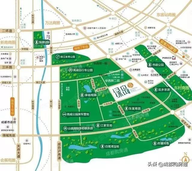 正宗的主城区,真正的小户型,住宅最小建面仅51㎡!
