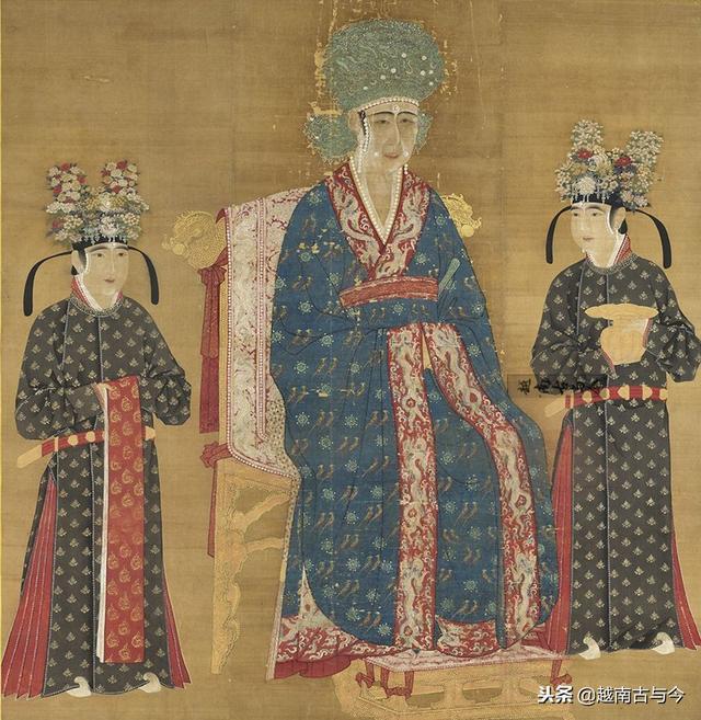 古代皇后贵妃手绘