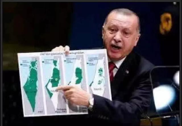 巴勒斯坦世界地图
