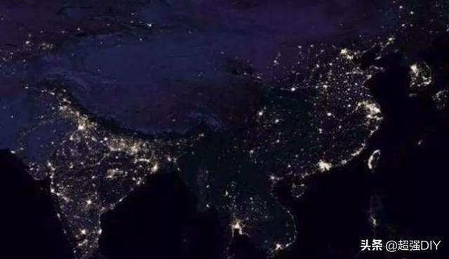 美国卫星拍摄到,印度夜晚照明亮度超过中国,这到底怎么回事?