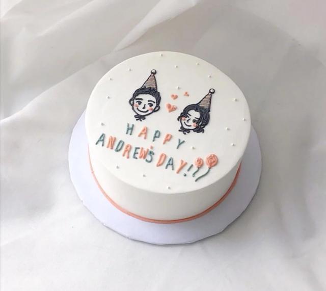 極簡極美蛋糕圖