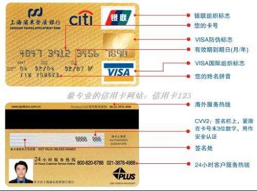 信用卡卡片上的小知识,一般人不知道